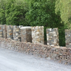 Selection of Stone Piers