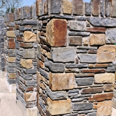 Selection of Mixed Sandstone Piers