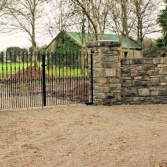 Stone Walls and Capping